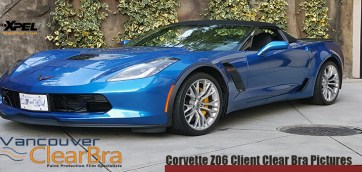 Corvette Z06 Clear Bra Pictures