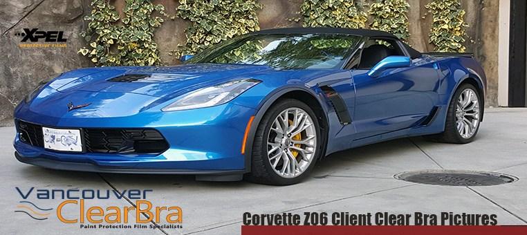 Corvette Z06 Clear Bra Pictures
