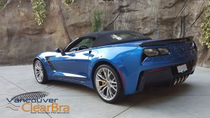 Corvette-z06-blue-roadster-Xpel-ULTIMATE-Clear-Bra-Paint-Protection-Film-installation-Vancouver-ClearBra-3M-5