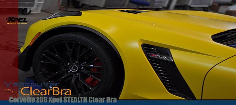 Corvette Z06 Xpel STEALTH Matte Wrap