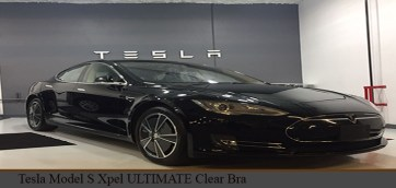 Tesla Model S Clear Bra Xpel ULTIMATE