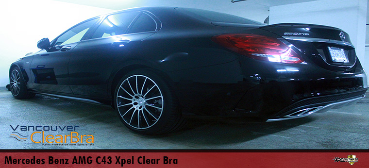 Mercedes Benz AMG C43 Xpel Ultimate Clear Bra