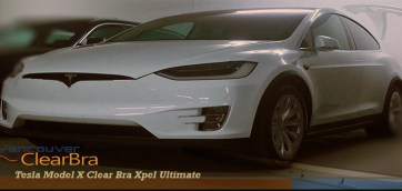 Tesla Model X Clear Bra Xpel Ultimate