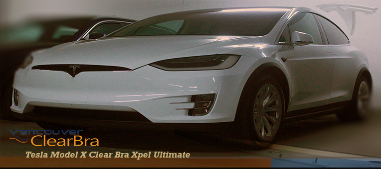 Tesla Model X Clear Bra Xpel Ultimate