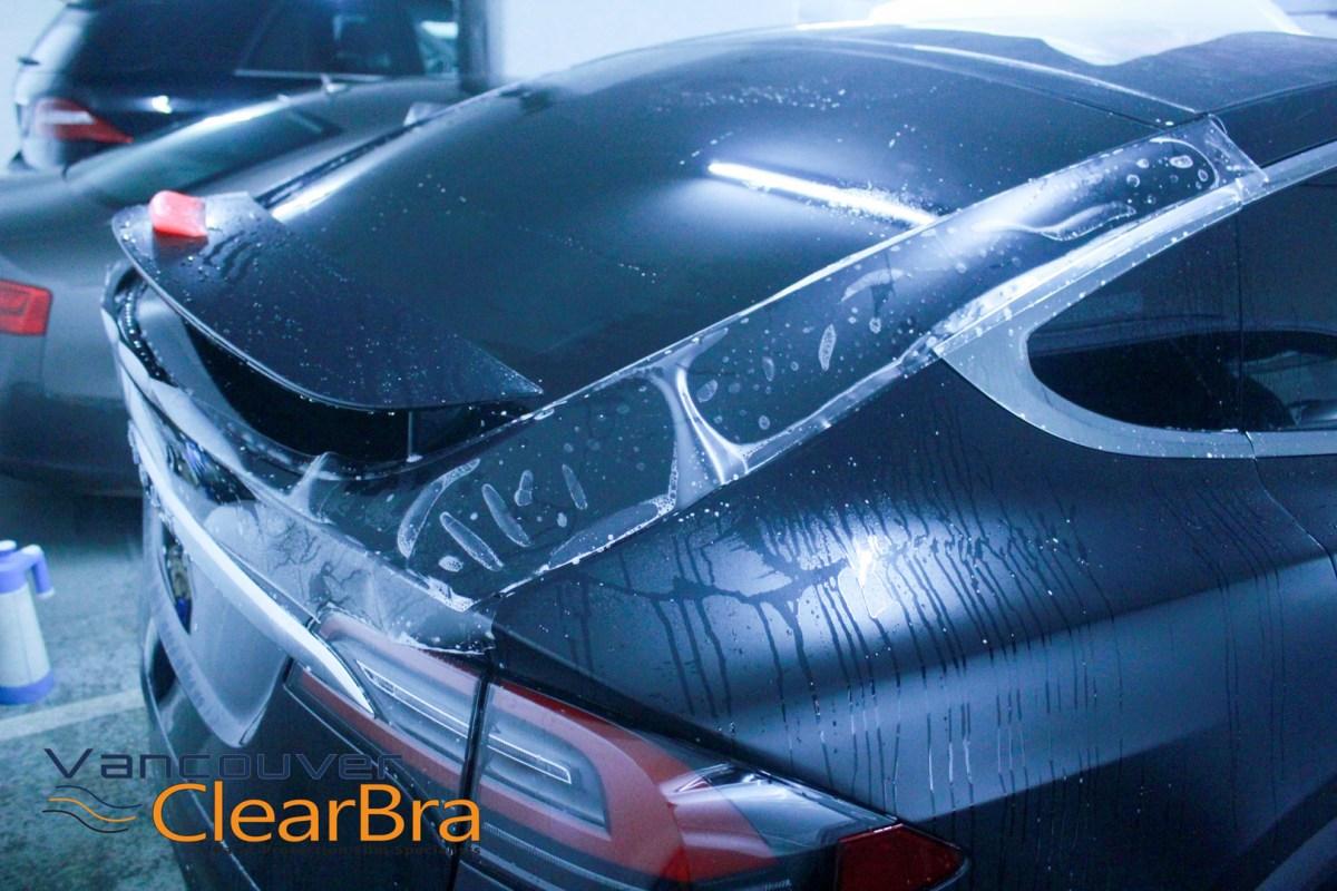 Tesla Model X Xpel STEALTH Matte Clear Bra