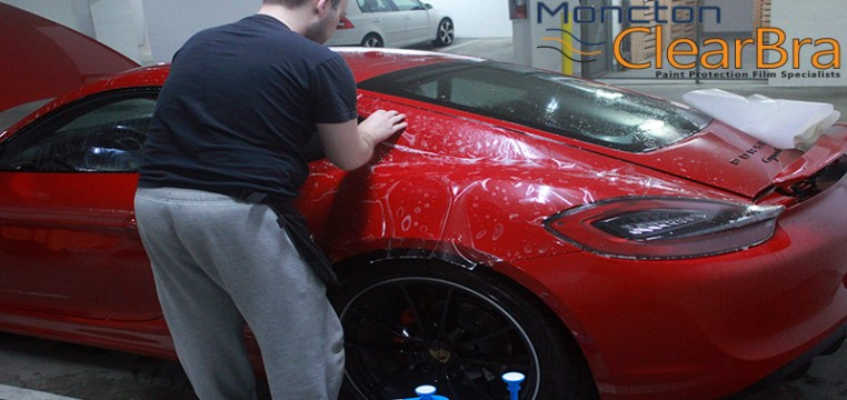 Moncton Clear Bra Paint Protection Film