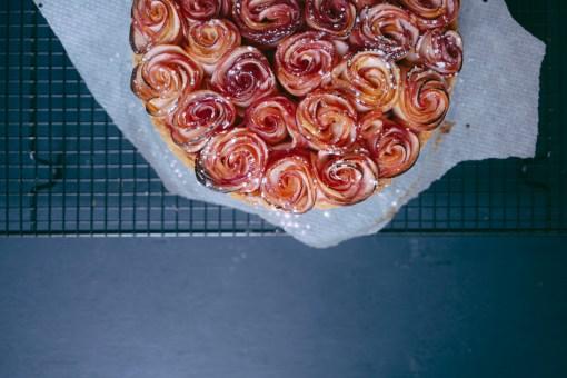 tarte-bouquet-rose