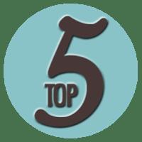 Top 5: Livros para ler em uma Tarde