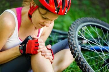 Hoe fietsblessures behandelen?