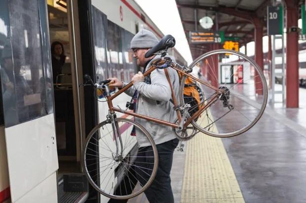 Afbeeldingsresultaat voor fietsen en NMBS