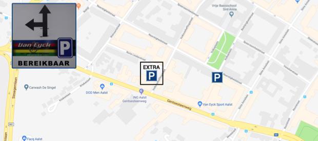 extra parkeerplaatsen