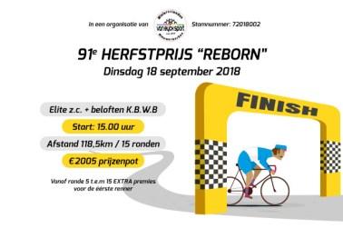 "91e Herfstprijs ""Reborn"""