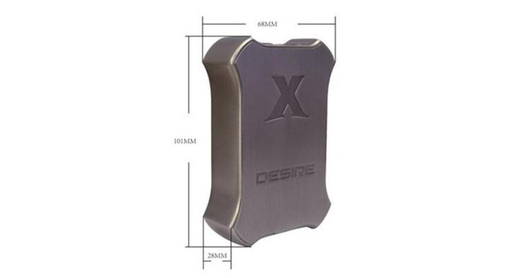 Desire X-Mod 200W TCサイズ