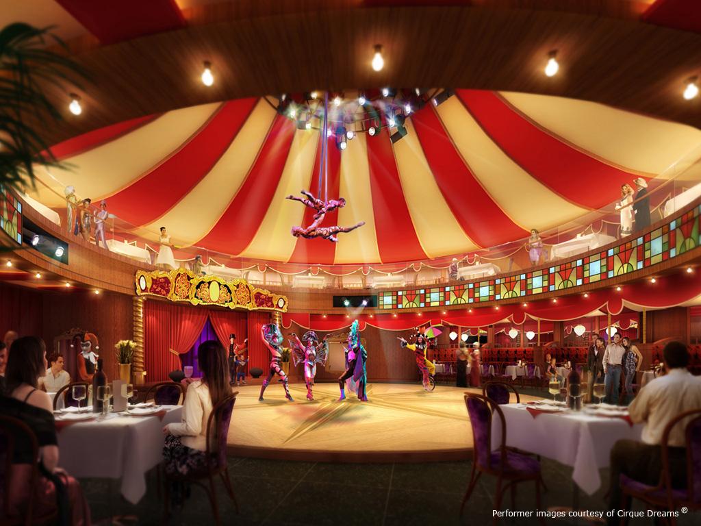 Cirque and dreams Norwegian Epic