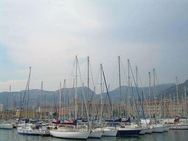 Toulon puerto