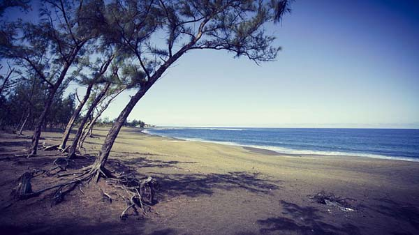 Oceano Indico en Isla Reunión