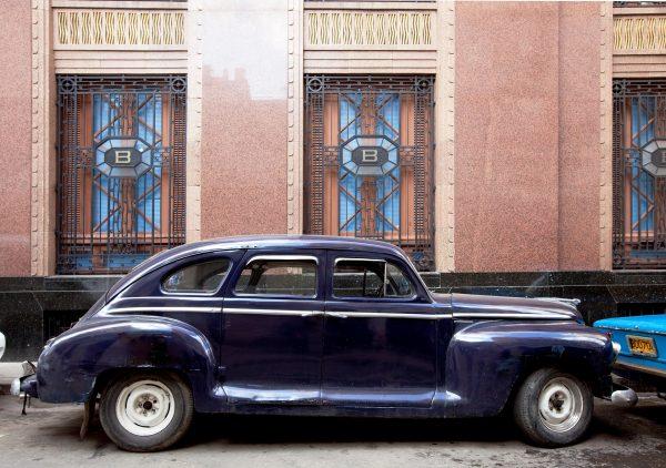 Coche tradicional de Cuba