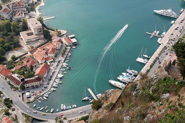 Puerto de Kotor Montenegro