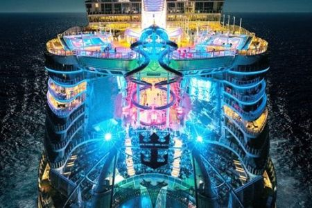Primera ruta del Symphony of the Seas