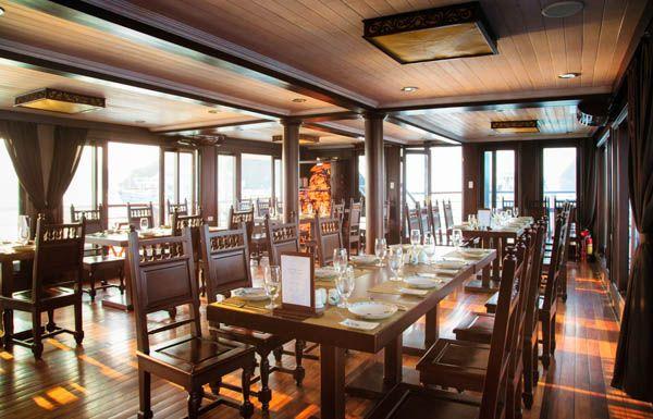 Restaurante en un crucero