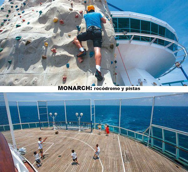 Monarch - rocodromo y pistas