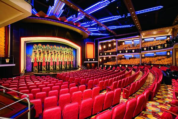 Teatro del Freedom of the Seas
