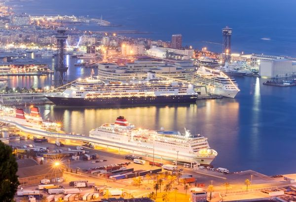 Crucero en Barcelona