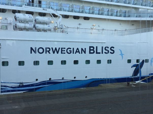 Norwegian Bliss exterior
