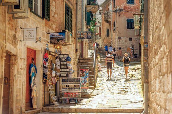 Por las calles de Kotor