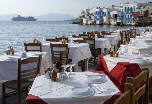 Crucero en Mykonos