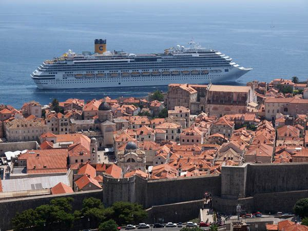 Costa Cruceros en Dubrovnik
