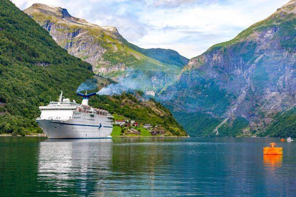 Crucero en el fiordo