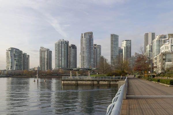Llegando a Vancouver