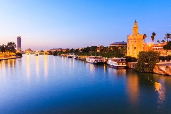 cruceros fluviales Río Guadalquivir