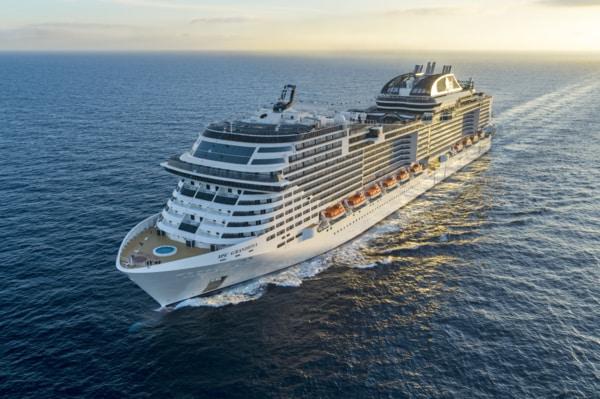 MSC Cruceros reanuda sus curceros