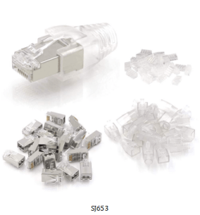 sj653 - What Types of RJ45 connectors I need?