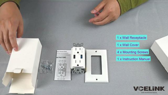 USB Wall Outlet Unboxing 6 1024x576 - Enjoy The Fun Of Charging——VCELINK QC3.0 USB Wall Outlet Unboxing