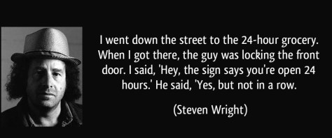 steven wright quote-i-went-down-the-street-to-the-24-hour-grocery-when-i-got-there-the-guy-was-locking-the-front-steven-wright-202303