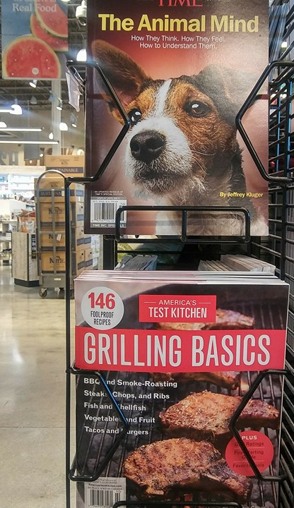 speciesism magazines - animal mind - grilling