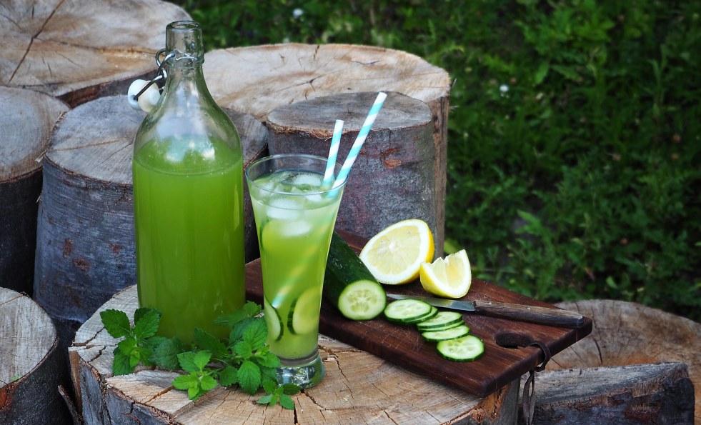 recept na okurkovou limonádu