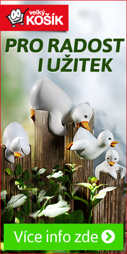dekorace na plot kachní rodinka