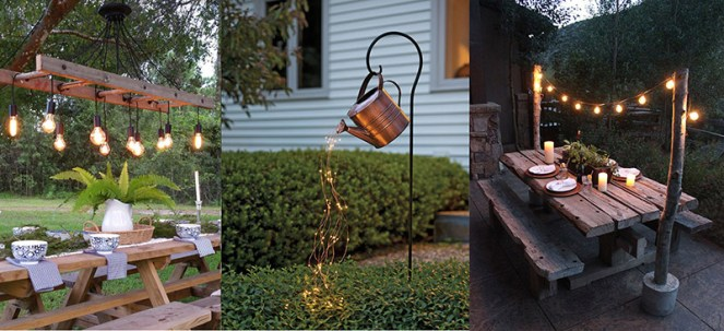 diy venkovní osvětlení