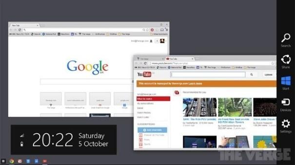 chrome os windows microsoft google
