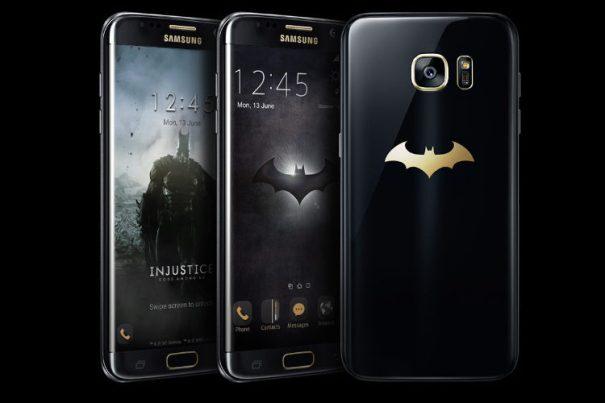 Si eres fan de Batman este es tu Samsung Galaxy S7 Edge