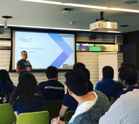 Ironhack lleva formando programadores en España desde 2013.