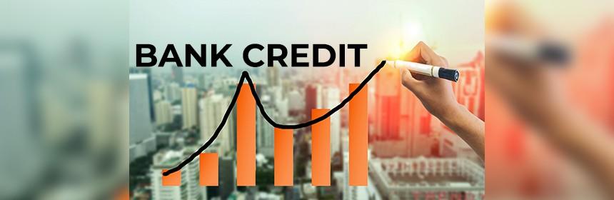 bank credit rising.