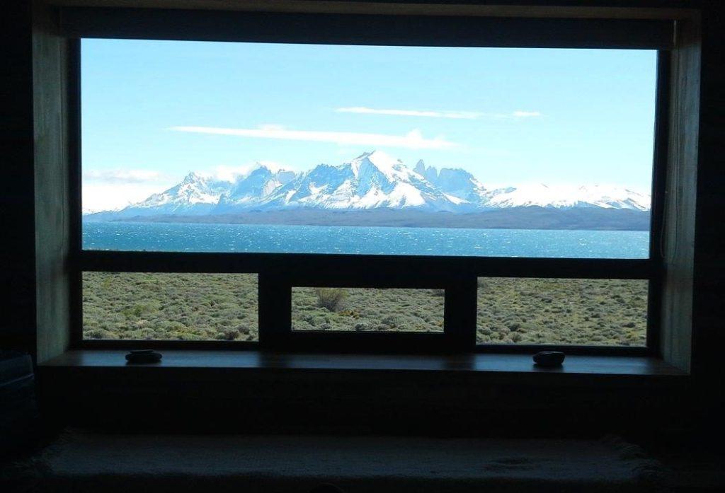 Na Patagônia Chilena, visto do Tierra Patagonia Hotel & Spa