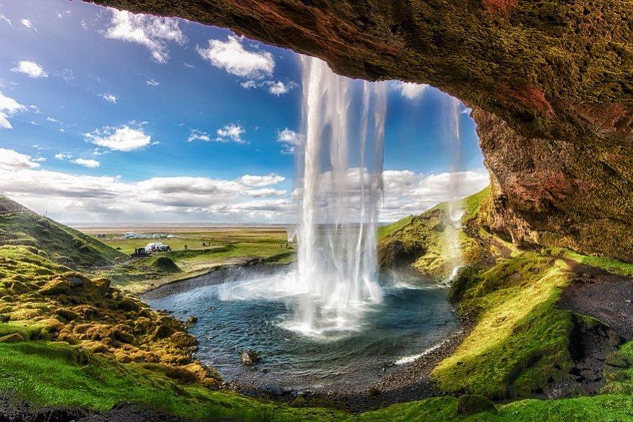 Islandia skogarfoss
