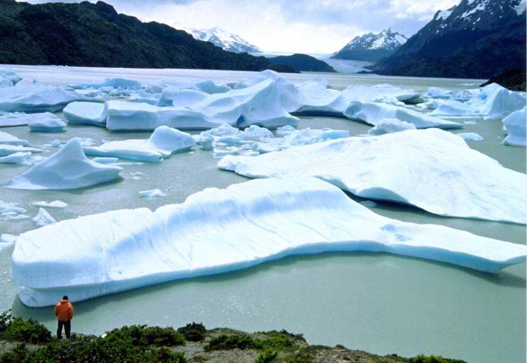 Patagônia Chilena, Glaciar e Iceberg