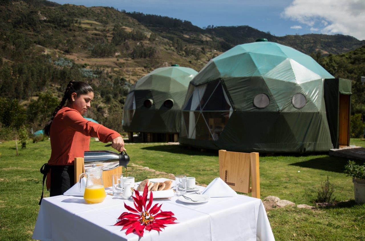 Glamping Peru ecocamp